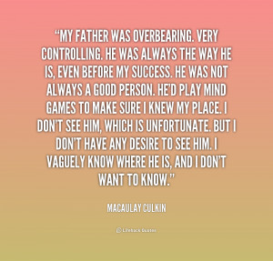 Overbearing People Quotes