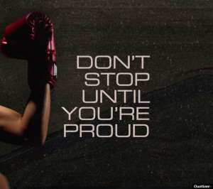 Are you proud of your accomplishments??