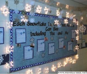 Snowflake Bulletin Board