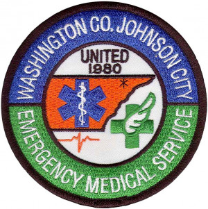 Emergency Medical Service Washington Embroidered Patch