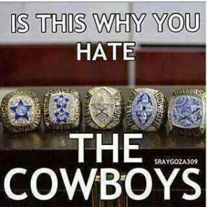 is this why you hate the cowboys - 5 rings
