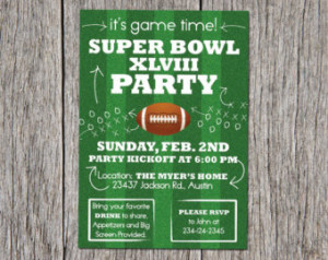 Popular items for super bowl party on Etsy