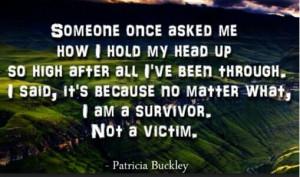 am a Survivor!!! Leena!