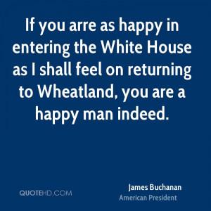James Buchanan Famous Quote