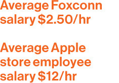 ... on Apple products. You've known Terry Gou at Foxconn for 20 years