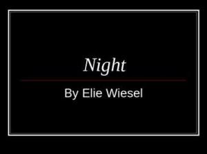 night by elie wiesel night by elie wiesel setting hungary