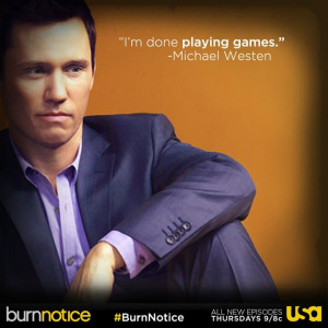 Jeffrey Donovan as Michael Westen in the Final season #BurnNotice # ...