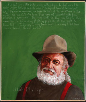 Utah Phillips Dead at 73: