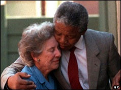 ... Nelson Mandela and Honorable Human rights Fighter Helen Suzman