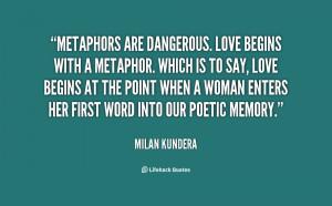 Love Metaphor Quotes