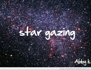 Star Gazing Abby K