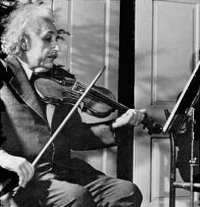 Albert Einstein quote about Music