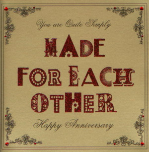 Made For Each Other Card by Five Dollar Shake