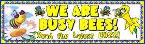 Spring Busy Bee Bulletin Board Display Examples and Ideas