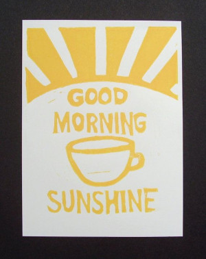 Cheery Good Morning Coffee