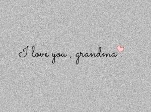Love You, Grandma