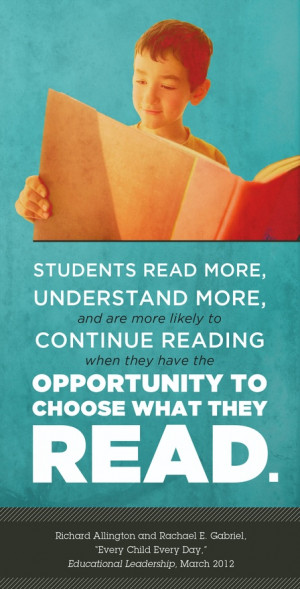 Sustained Silent Reading During PRIDE Period Helps All Students Grow