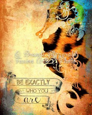 Seahorse Leopard Inspirational Quote Animal Print Nursery Decor Choose ...