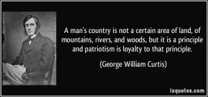 George William Curtis Quote