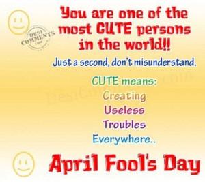 Funny April Fools Quotes April fools day jokes,pranks,
