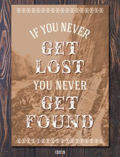 Lost and Found Travel-Inspired Print by Earmark More