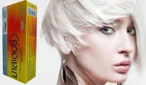 hair color permanent hair cream dye silver titanium blonde
