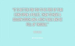 Epicurus Quote Picture