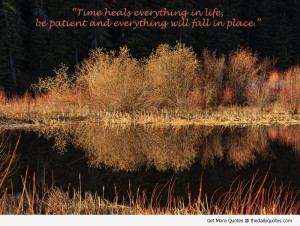 Time Heals Everything Quotes