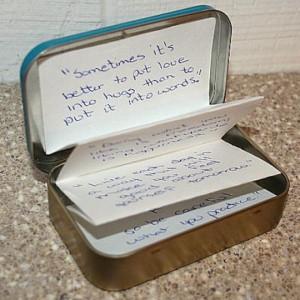 Tin of Quotes Craft - Sherri Osborn