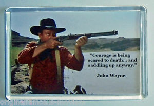 Details about John Wayne quote movie poster fridge magnet New - The ...