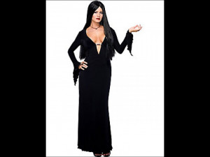 The Addams Family Values Anjelica Huston Morticia