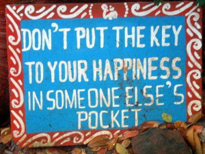 You hold the key. . .