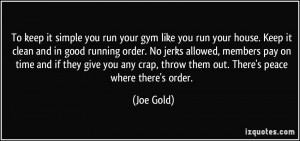 More Joe Gold Quotes
