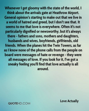 Love Actually Husband Quotes