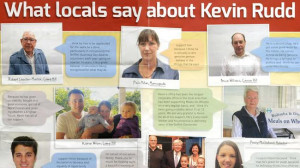 ... election campaign material is fake after voters deny giving quotes