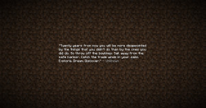 ... minecraft comments 1ifov2 inspirational minecraft quote posted by