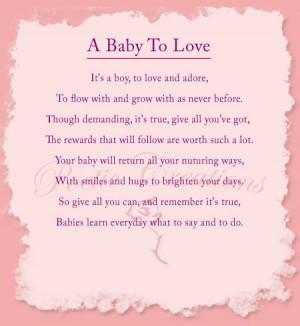 Baby Poems 3