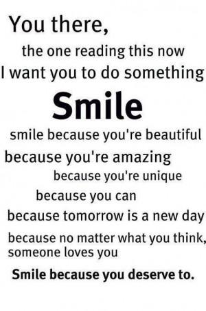 Smile Because