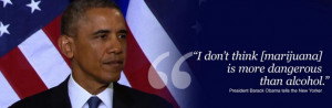 Obama On The Merits Of Pot Versus Booze, Summarized In A Cartoon