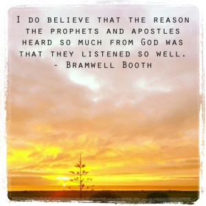 Bramwell Booth - prophets