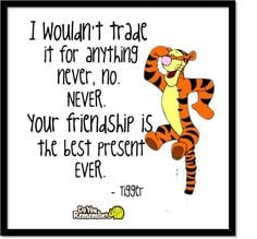 Friendship really is the best present.thank you god for all the ...