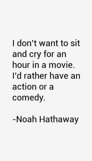 Noah Hathaway Quotes amp Sayings