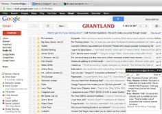 Steve Ballmer's Gmail account after buying the Clippers. Love the Bill ...
