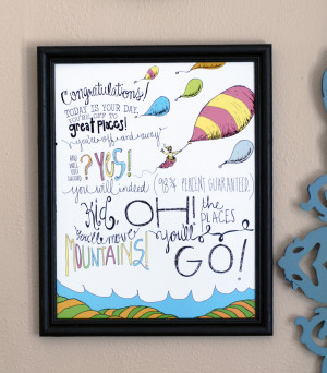 OH The Places Youll Go. Dr. Seuss Quotes For Preschool Graduation ...