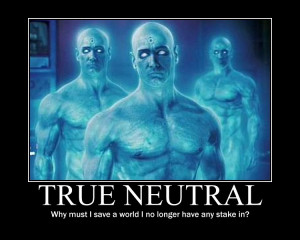 True Neutral Dr. Manhattan 2 by 4thehorde