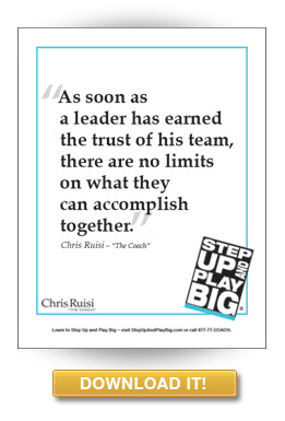 Leadership Quote from Chris Ruisi