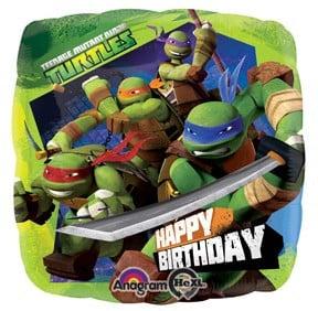Happy Birthday Teenage Mutant Ninja Turtles