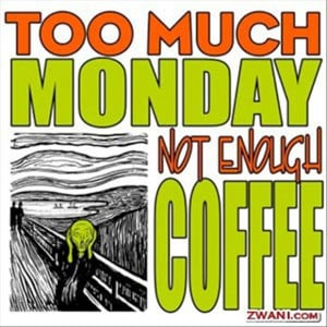 """Return to 20 """"I Hate Monday"""" Funny Pictures"""