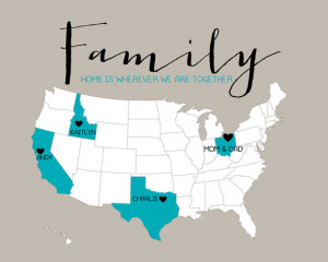 Back > Quotes For > Distance Family Quotes