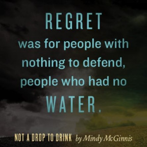 Not A Drop to Drink Quote #1